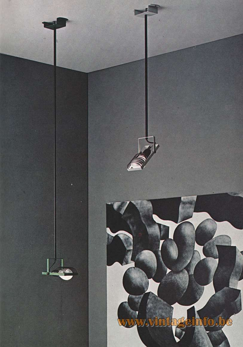Artemide Sintesi Sospensione Catalogue 1976
