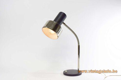 1960s Gooseneck Desk Lamp - Black version