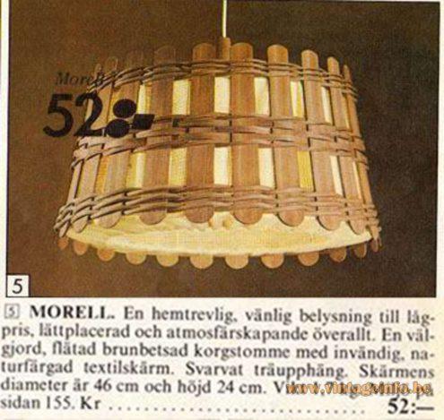 IKEA Morell Pedant Light