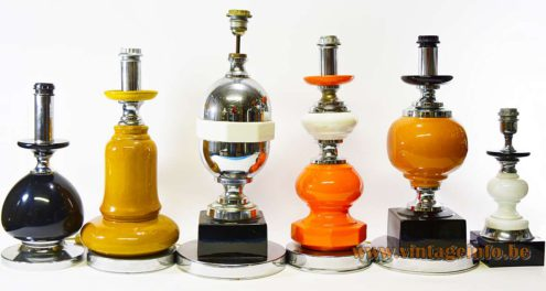 Italian Ceramic Table Lamps - collection