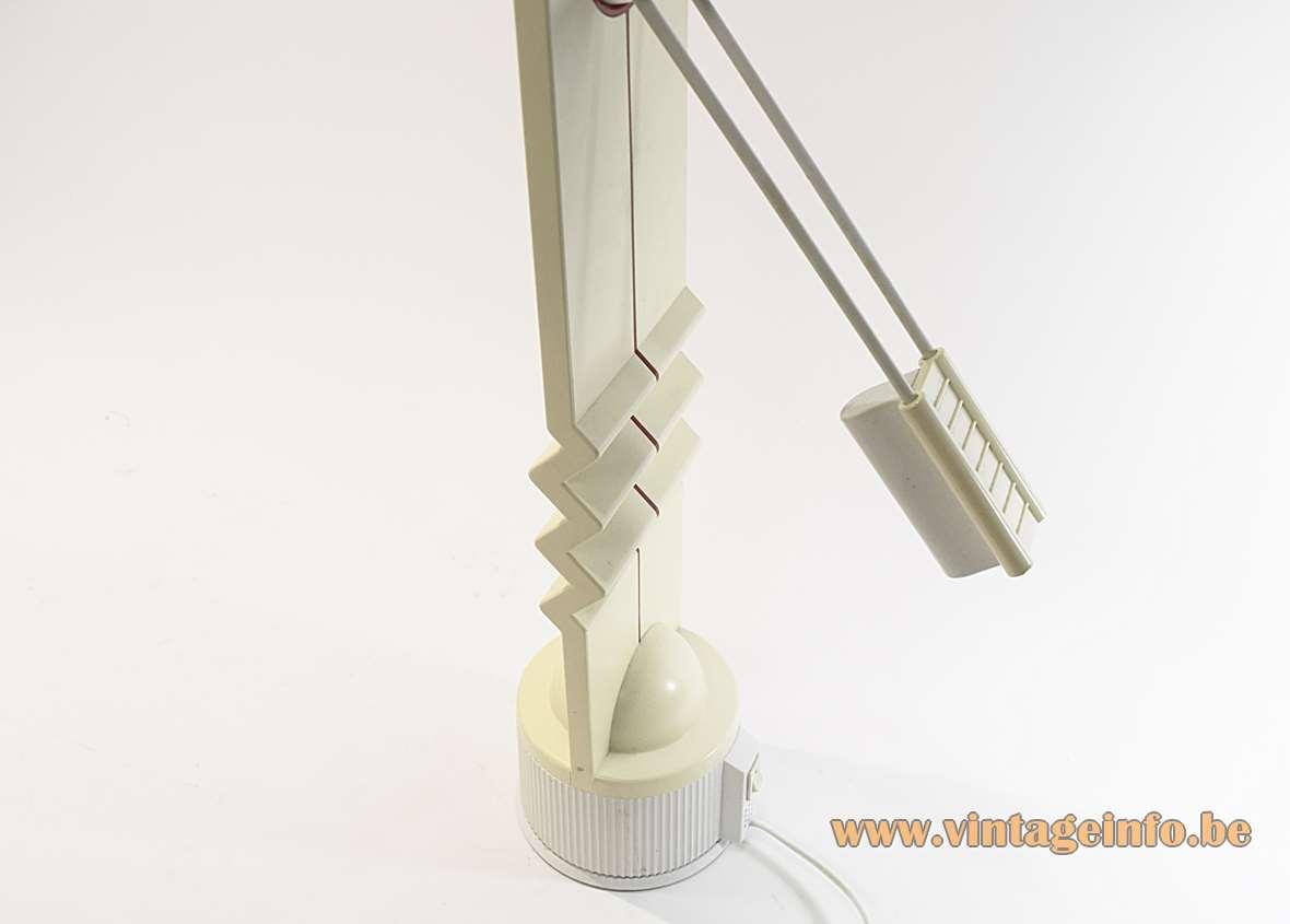 Memphis Style Zigzag Desk Lamp