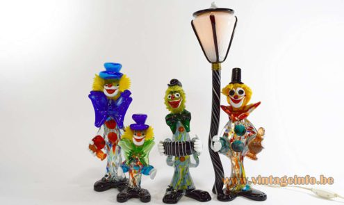 Murano Clowns collection