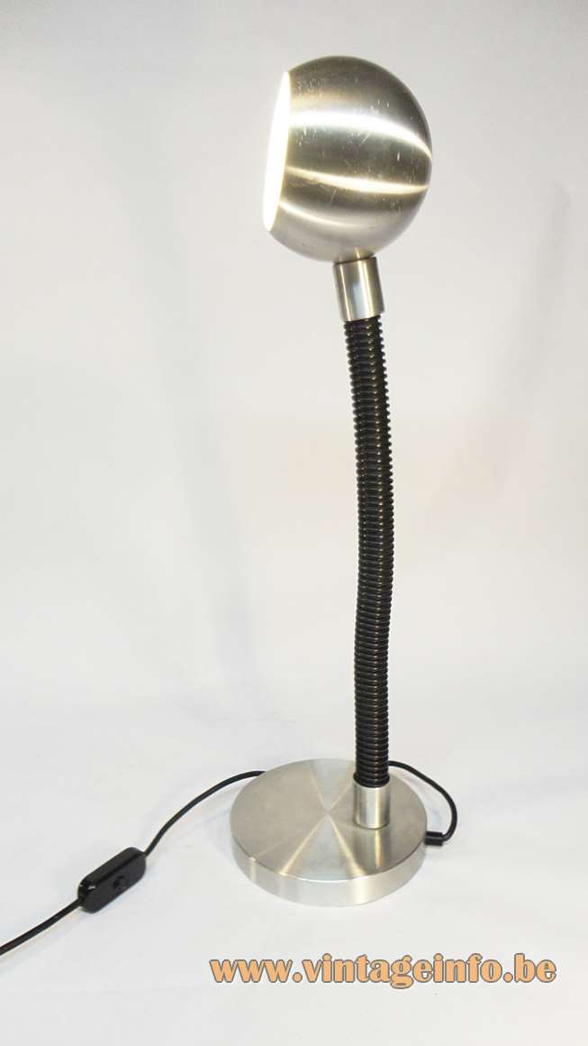 Raak Serpent Table or Desk Lamp, Designer Martine Le Forestier, The Netherlands in the 60s/70s