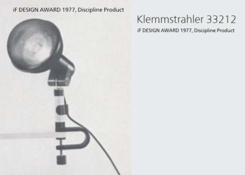 iF Design award 1977 - 33 212