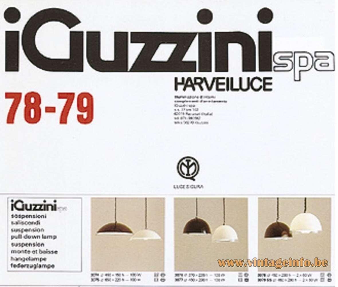 iguzzini baobab pendant lamp vintage info all about. Black Bedroom Furniture Sets. Home Design Ideas