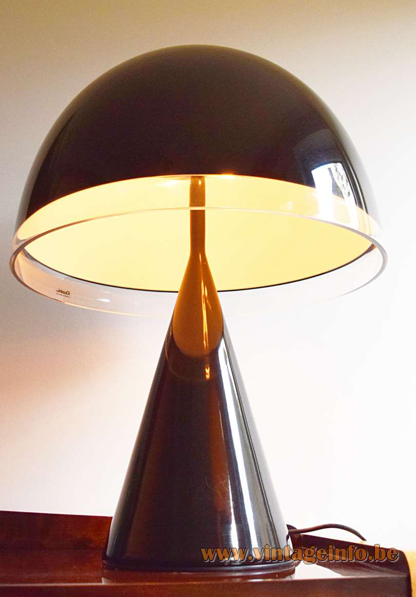 1970s iGuzzini Baobab Table Lamp