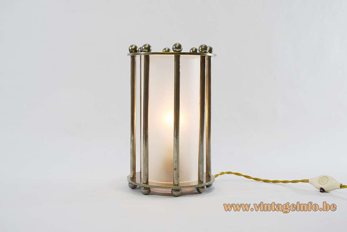 1930s Modernist Table Lamp Vintage Info All About