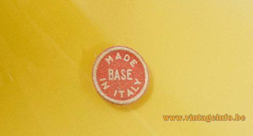 Base Crystal Glass Pendant Light - label