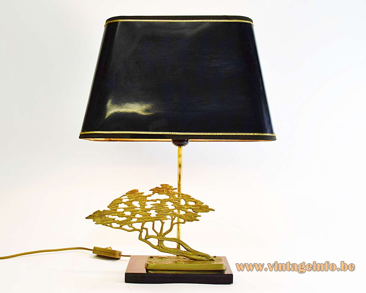 Bronze Bonsai Table Lamp
