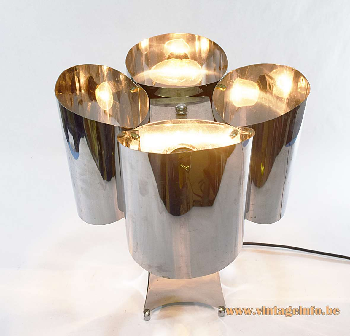 Stainless Steel Table Lamp