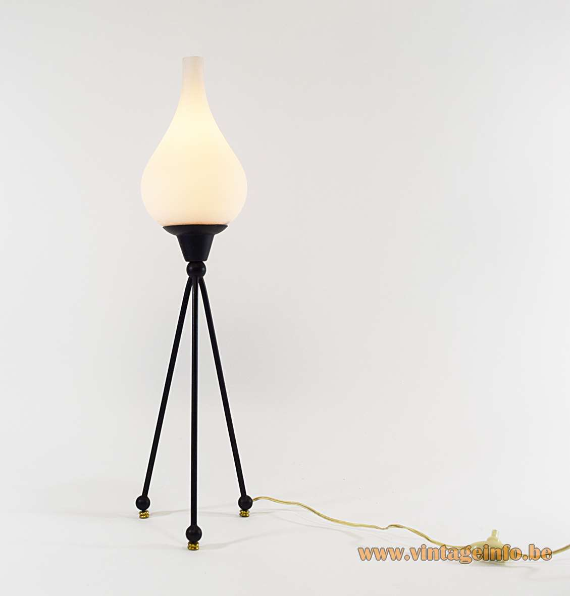Fratelli Rumi Tripod Table Lamp Vintage Info All About