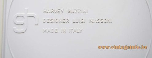 Harvey Guzzini - Full Ashtrays - Luigi Massoni - back