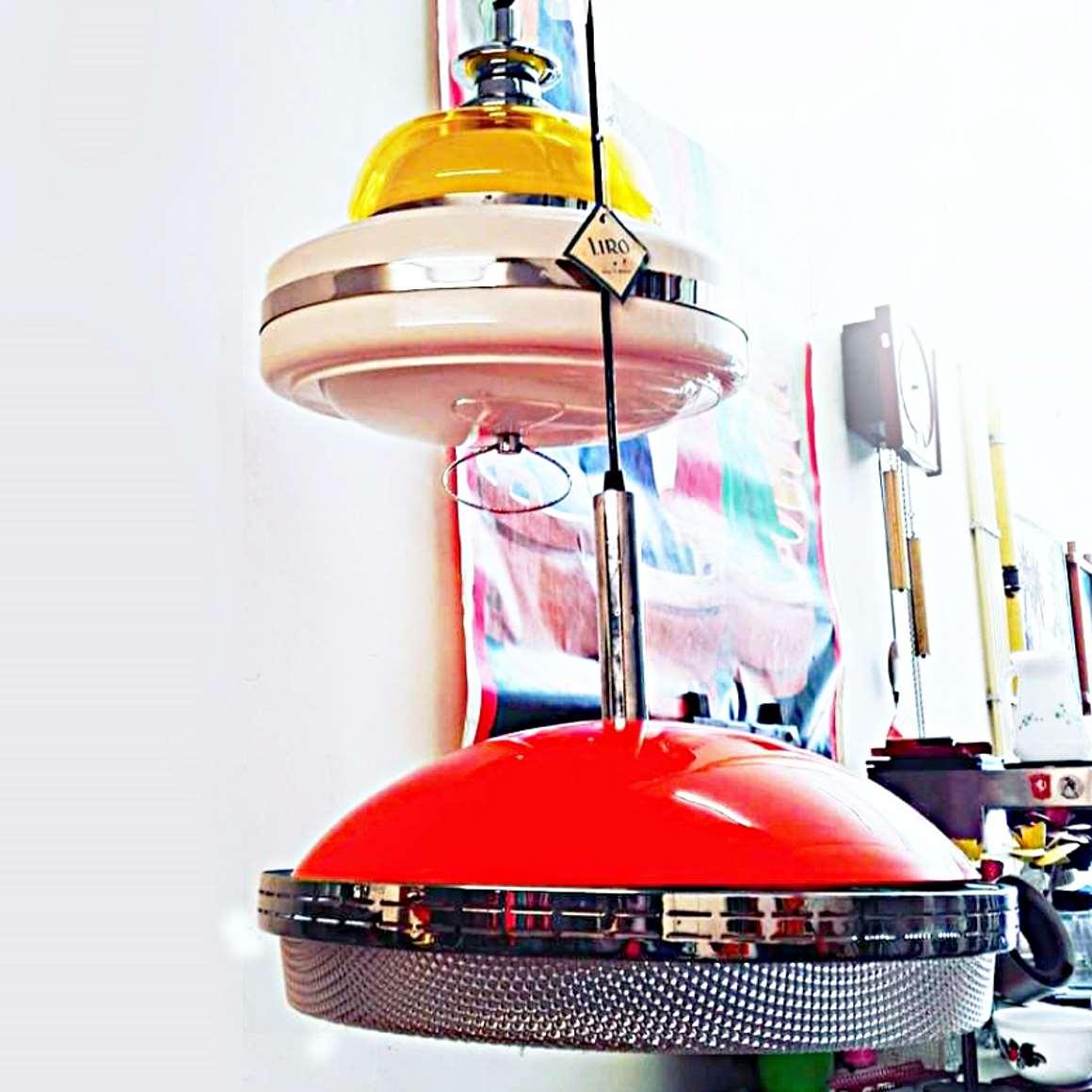 Liro Pendant Lights - Label