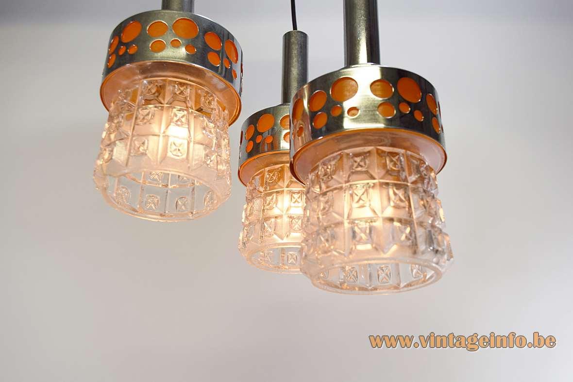 Massive Belgium Triple Pendant Lamp