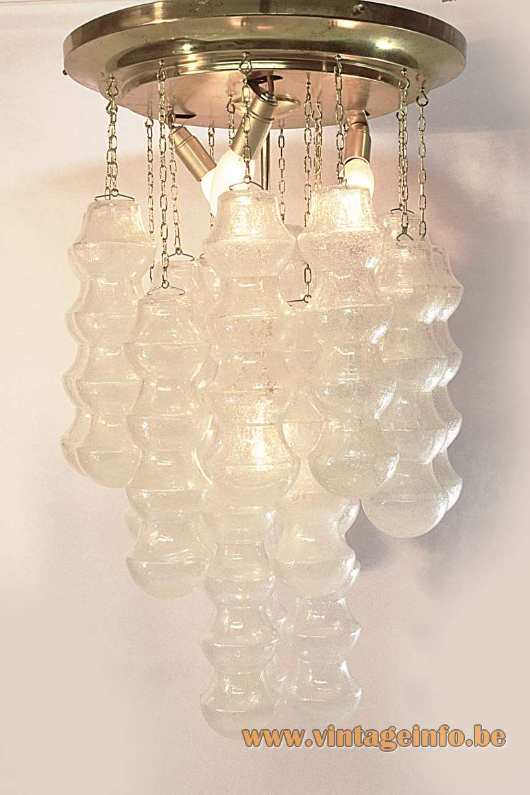 Murano Bubble Tubes Ceiling Lamp