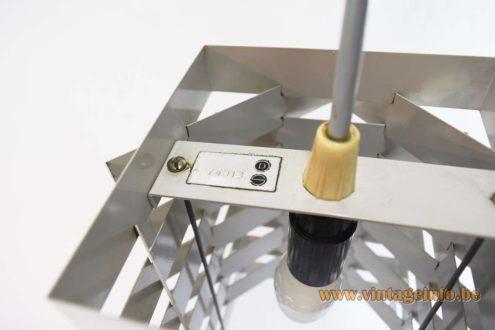 Nordisk Solar Pendant Lamp - label