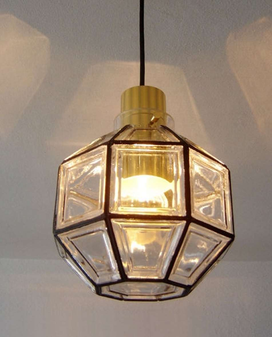 Octagon Limburg Glasshütte Pendant Light