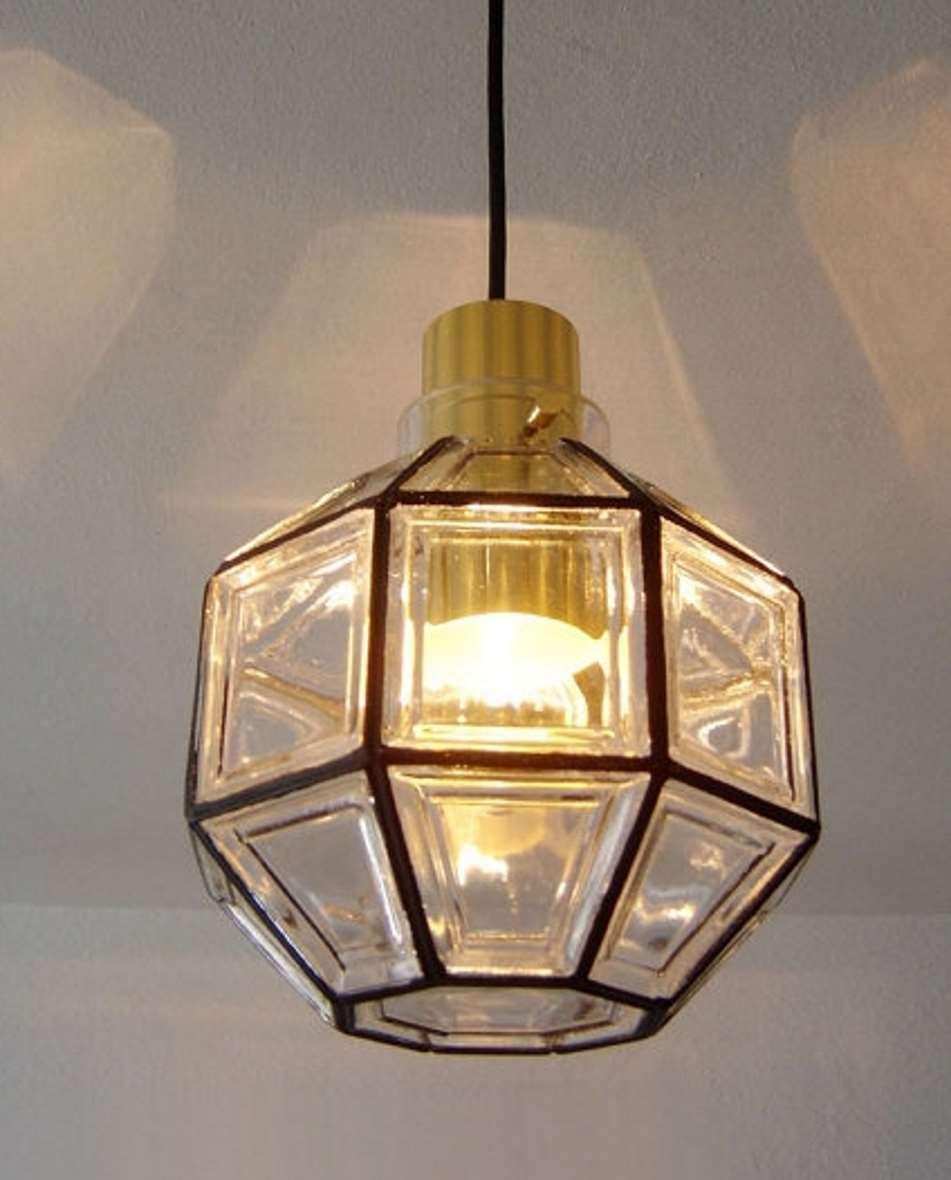 Octagon Limburg Glasshütte Pendant Light
