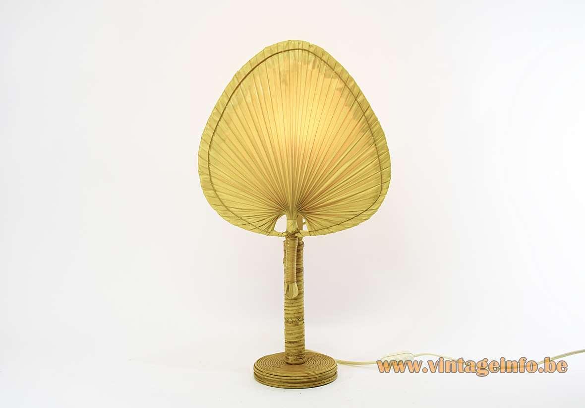 Uchiwa Table Lamp