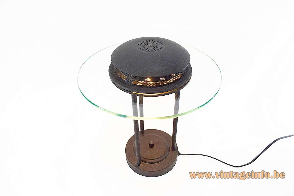 1980s Saturn Banker's Desk Lamp