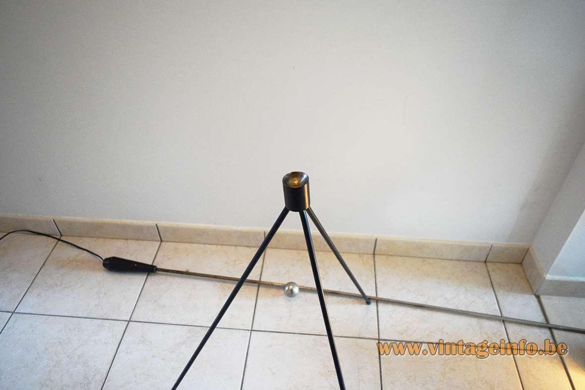 Wall Hugger Floor Lamp : Artiforte Magneto Floor Lamp -Vintage Info All About Vintage Lighting