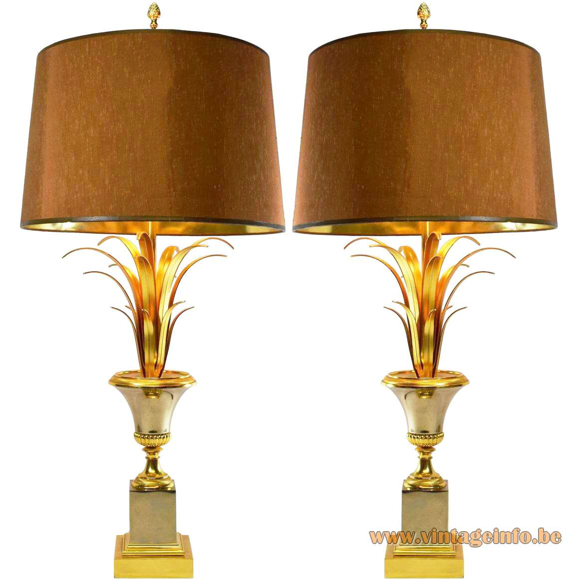 Boulanger Palm or Reed Lamps