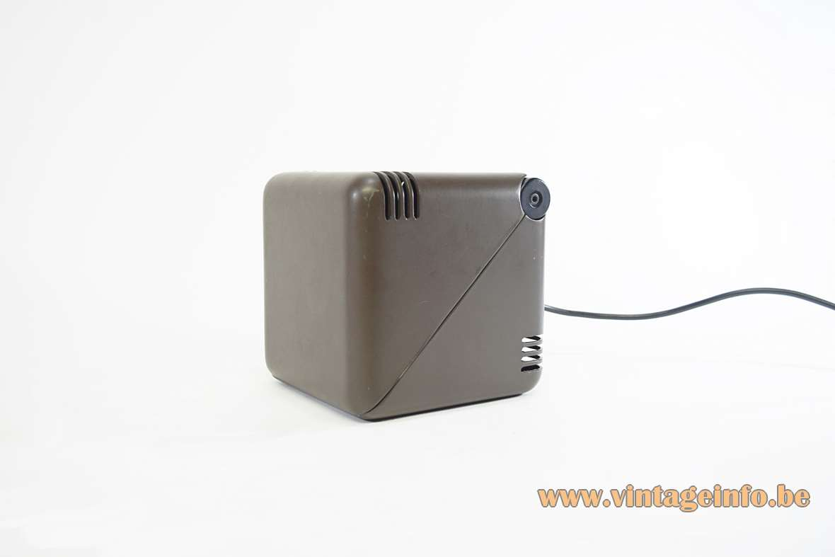 1970s FoldableCube Table Lamp