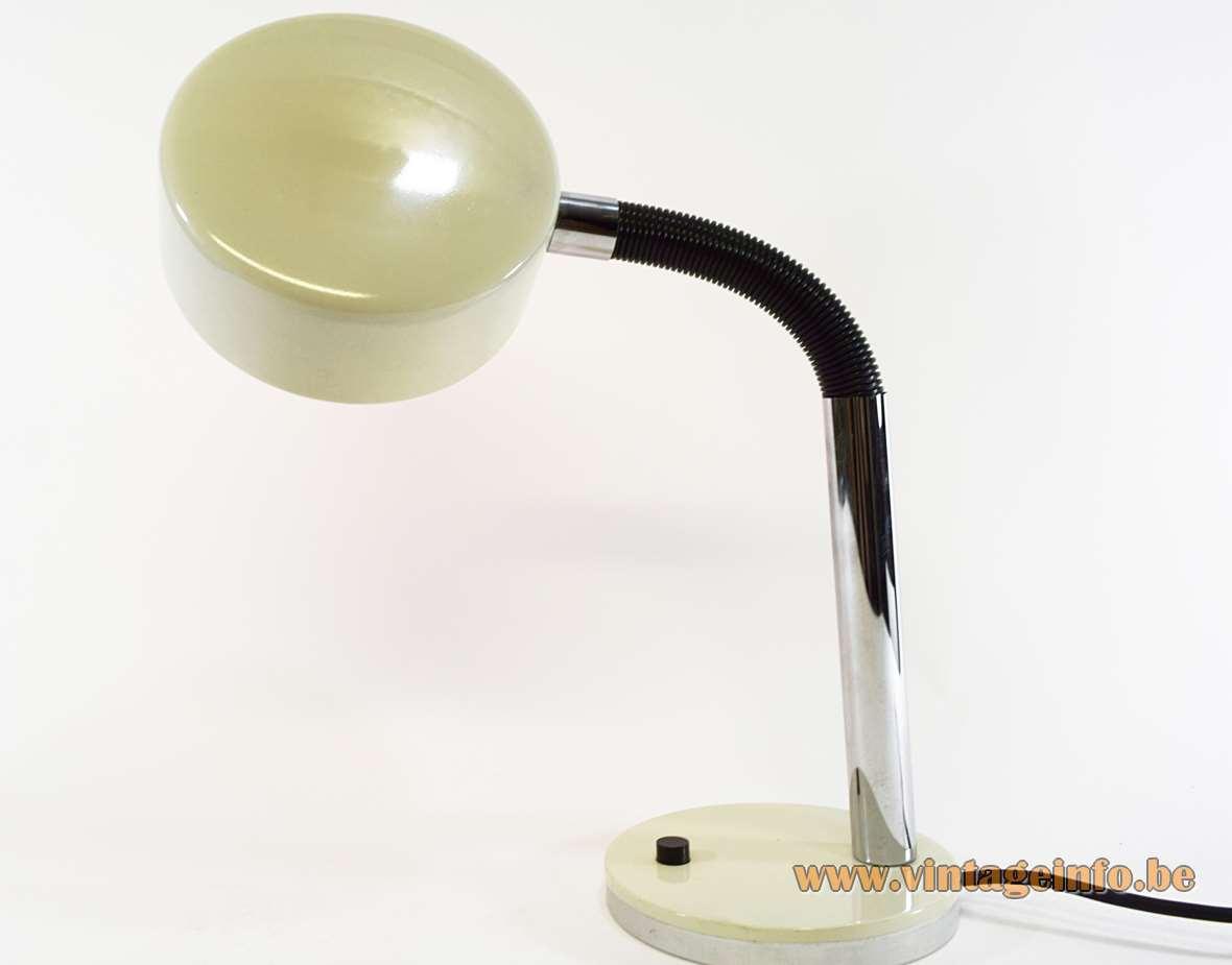 1970s Hala Gooseneck Desk Lamp