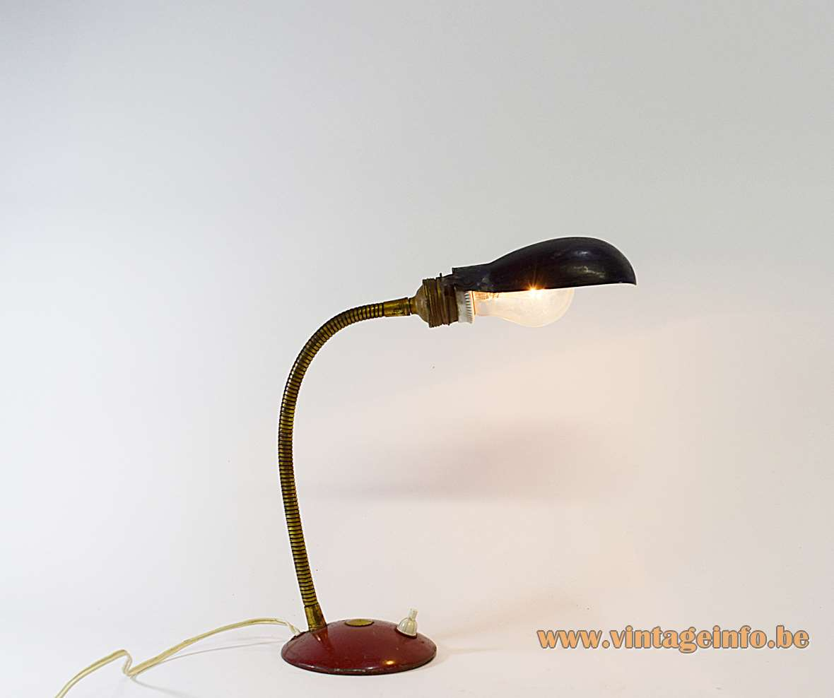 Industrial Gooseneck Desk Lamp