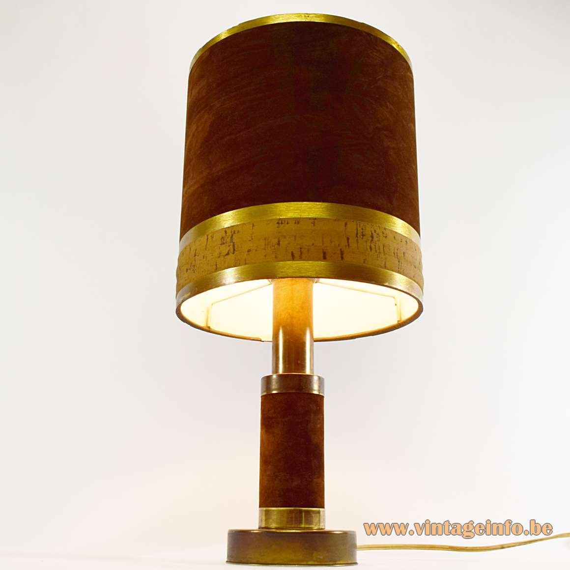 Italian Velours Table Lamp