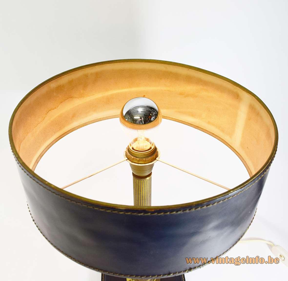 Leather Desk Lamp