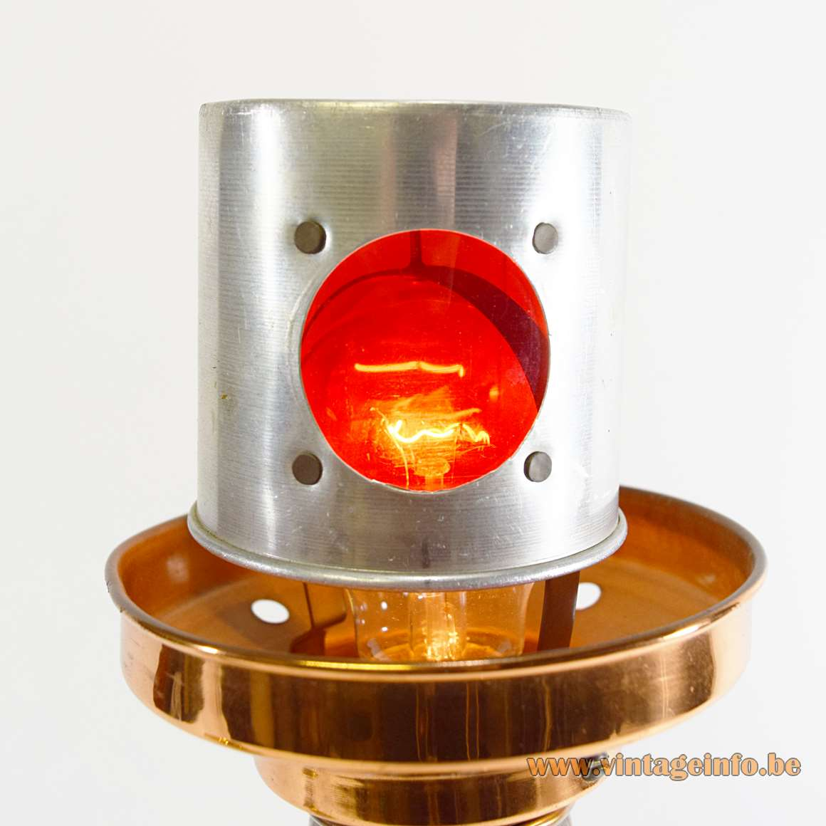 Lighthouse Table Lamp - inside the tower