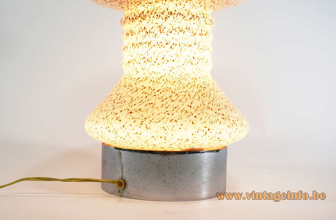 Mushroom Murano Table Lamp
