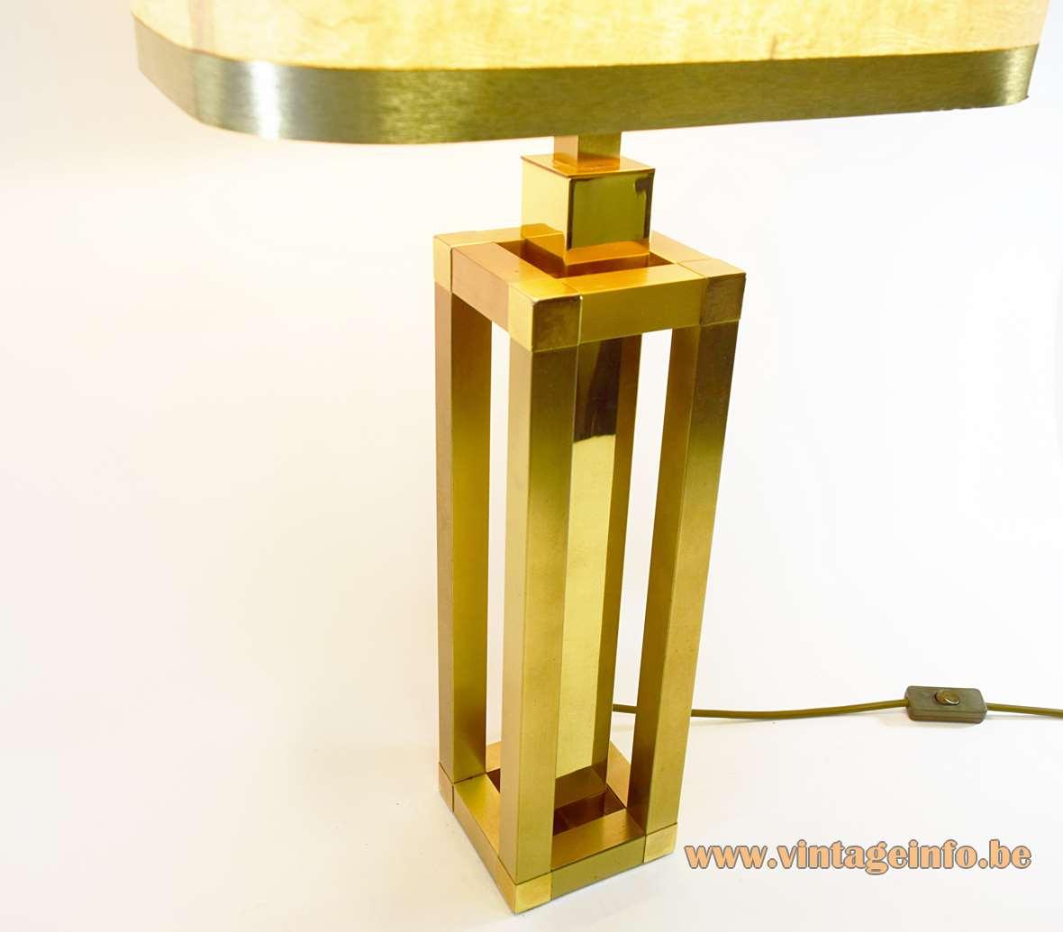 Romeo Rega Square Tubes Table Lamp