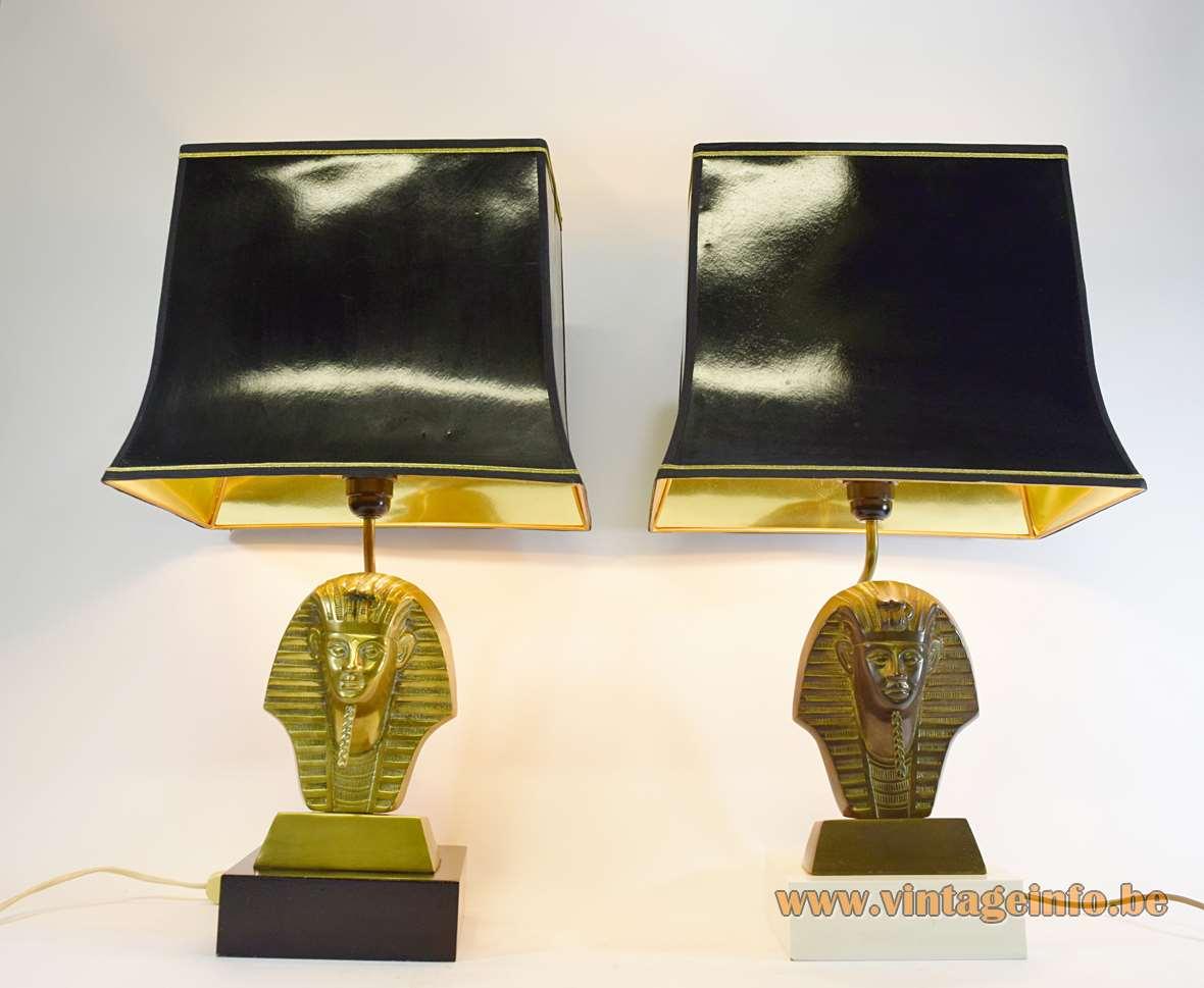 Tutankhamun Table Lamps