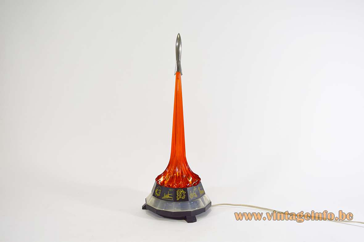 USSR Rocket Table Lamp