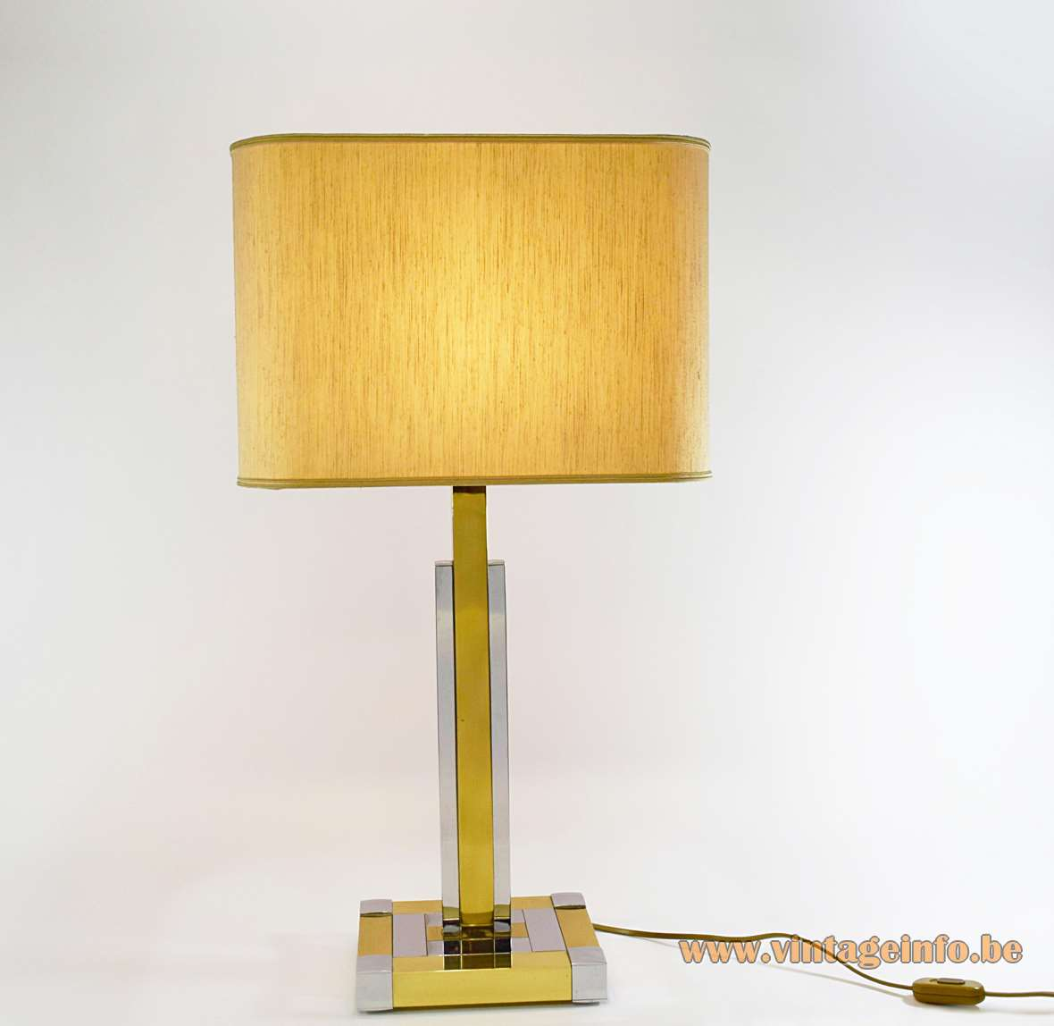 Willy rizzo table lamp vintage info all about vintage for Table willy rizzo