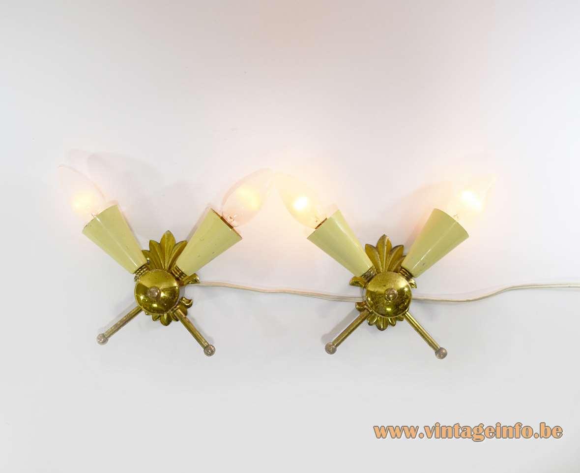 1950s Italian Wall Lamps