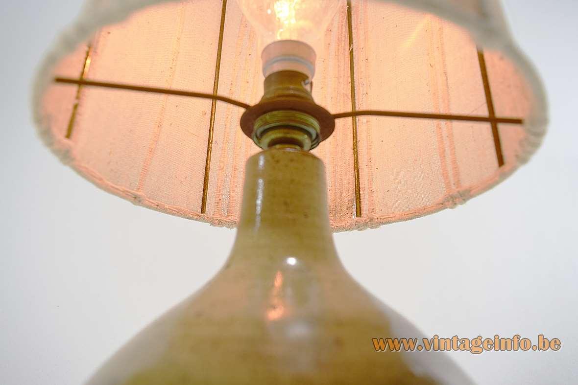 1960s Ceramic Table Lamp
