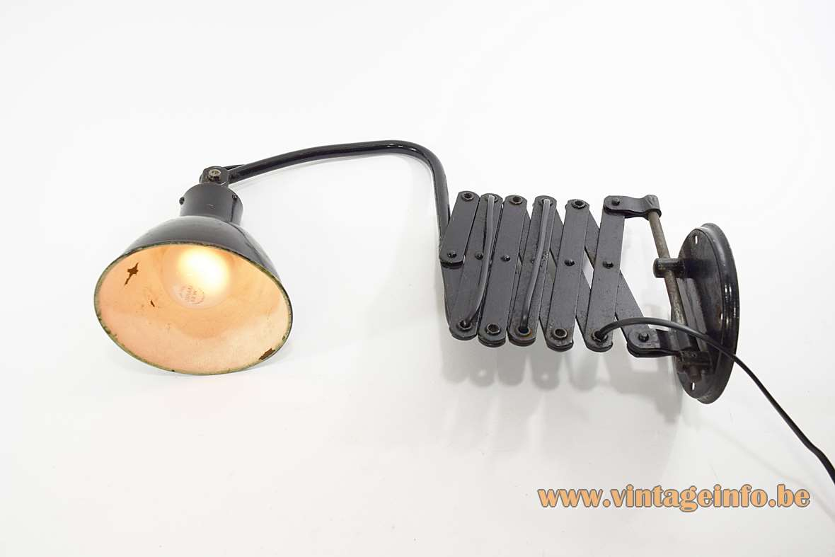 Agi Scissor Wall Lamp Vintage Info All About Vintage