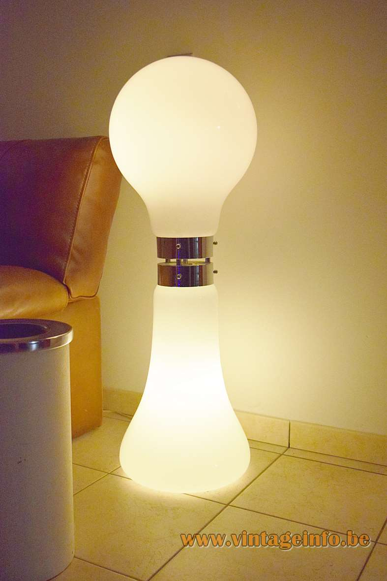 AV Mazzega Birillo Floor Lamp