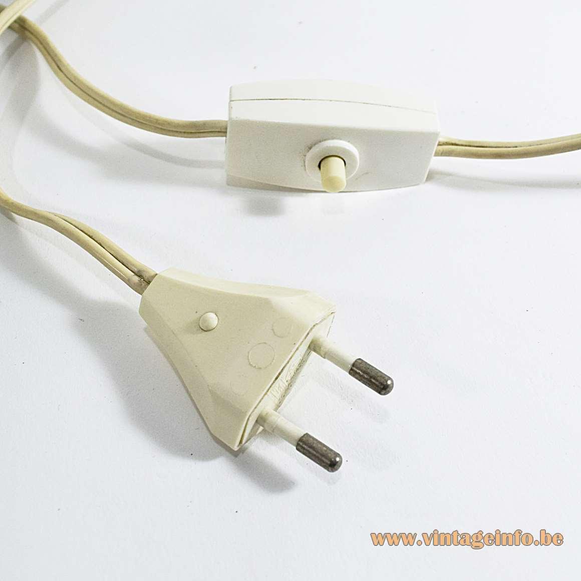 Cari Zalloni Table Lamps - switch and plug