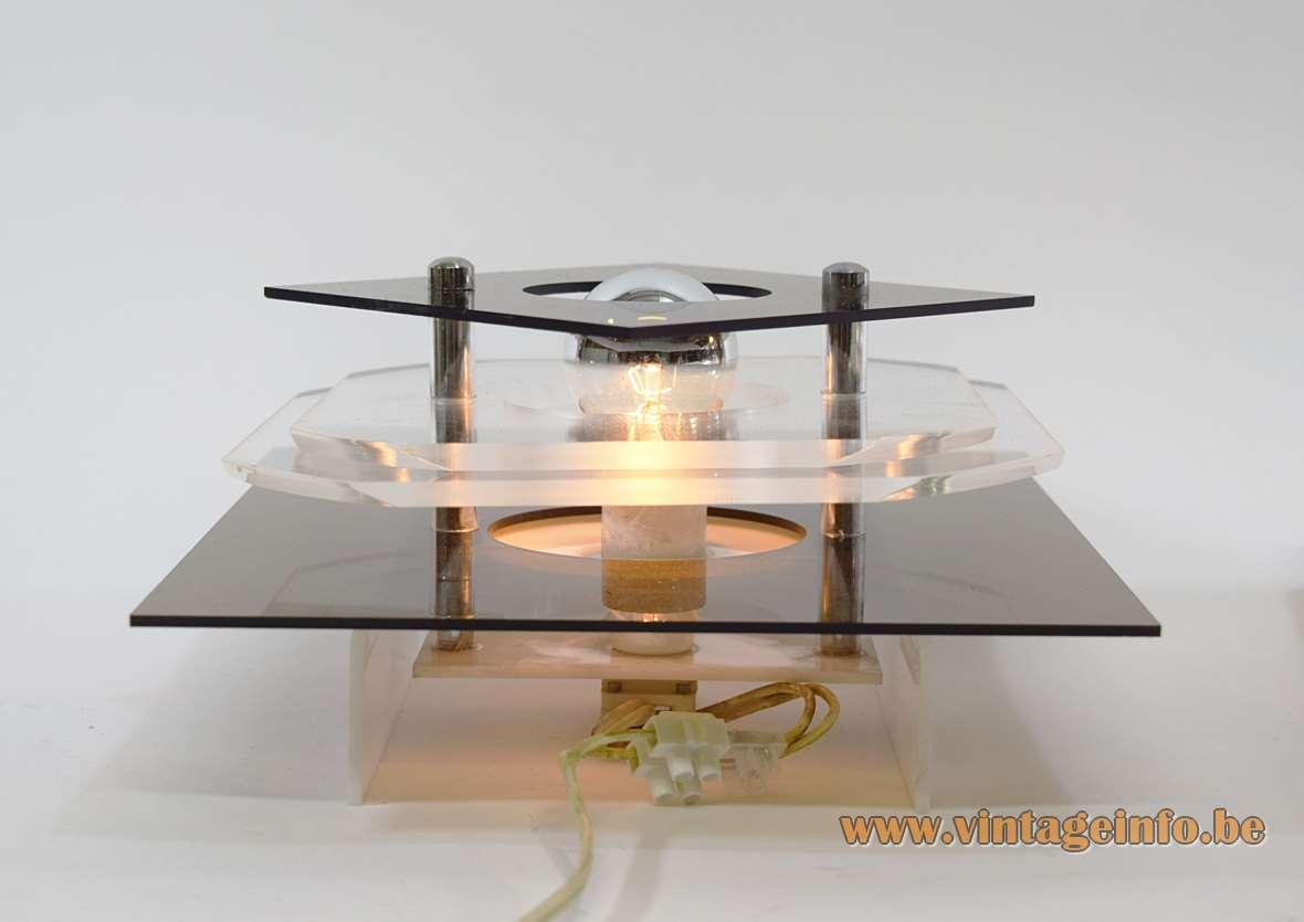 Herda Acrylic Wall Lamps