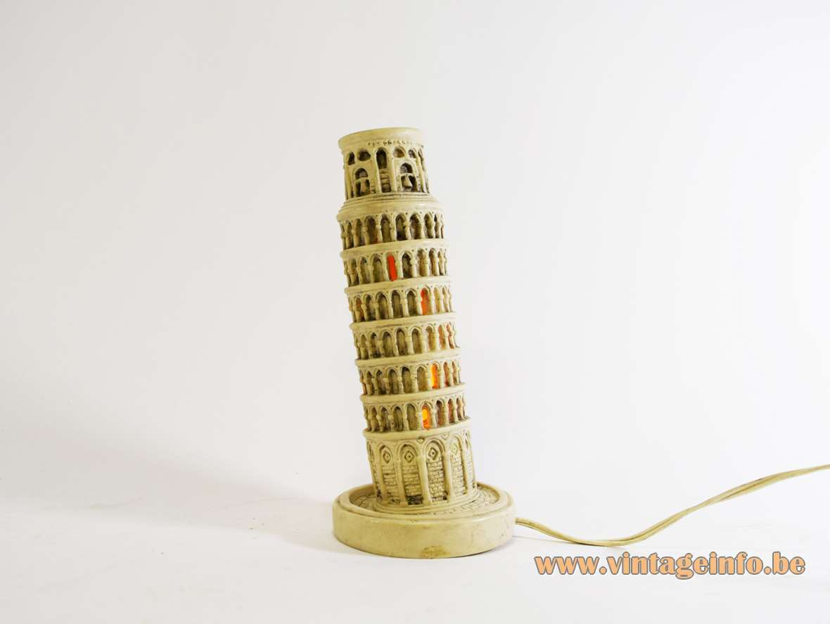 Leaning Tower of Pisa Lamp