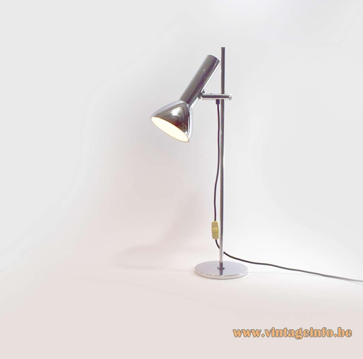 OMI Chrome Desk Lamp