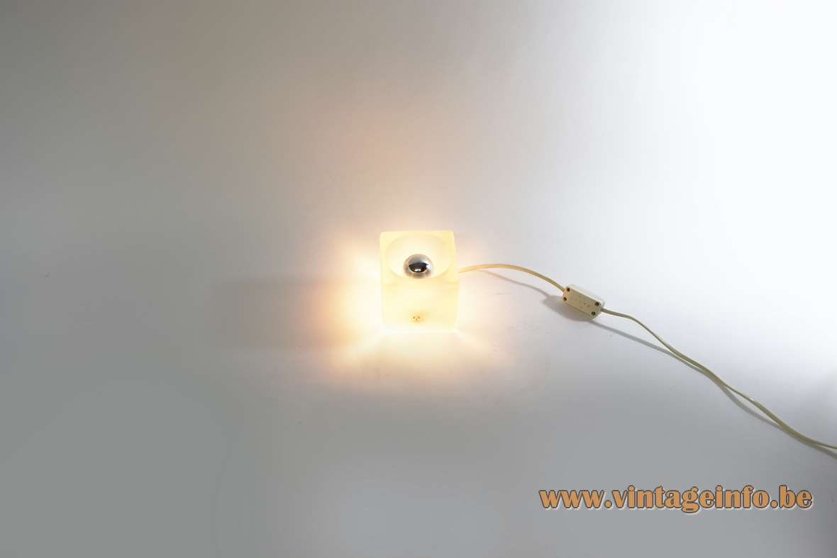 Peill putzler ice cube table lamp vintage info all about vintage info all about vintage lighting mozeypictures Gallery