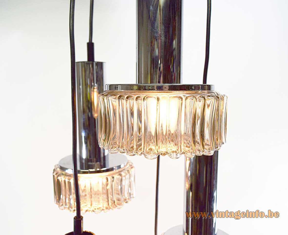 Staff Bubble Glass Pendant Chandelier
