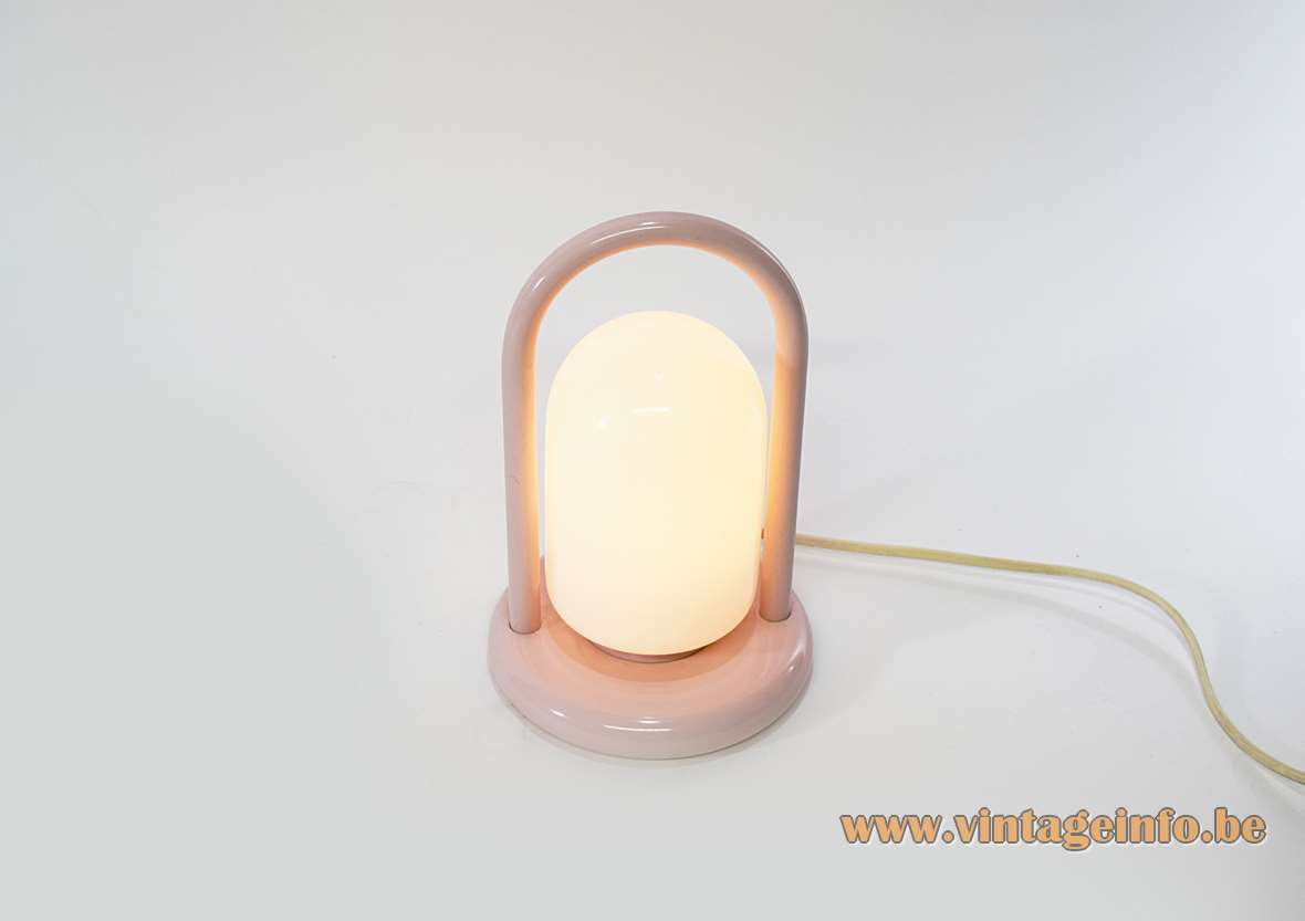 1980s Pink Table Lamp