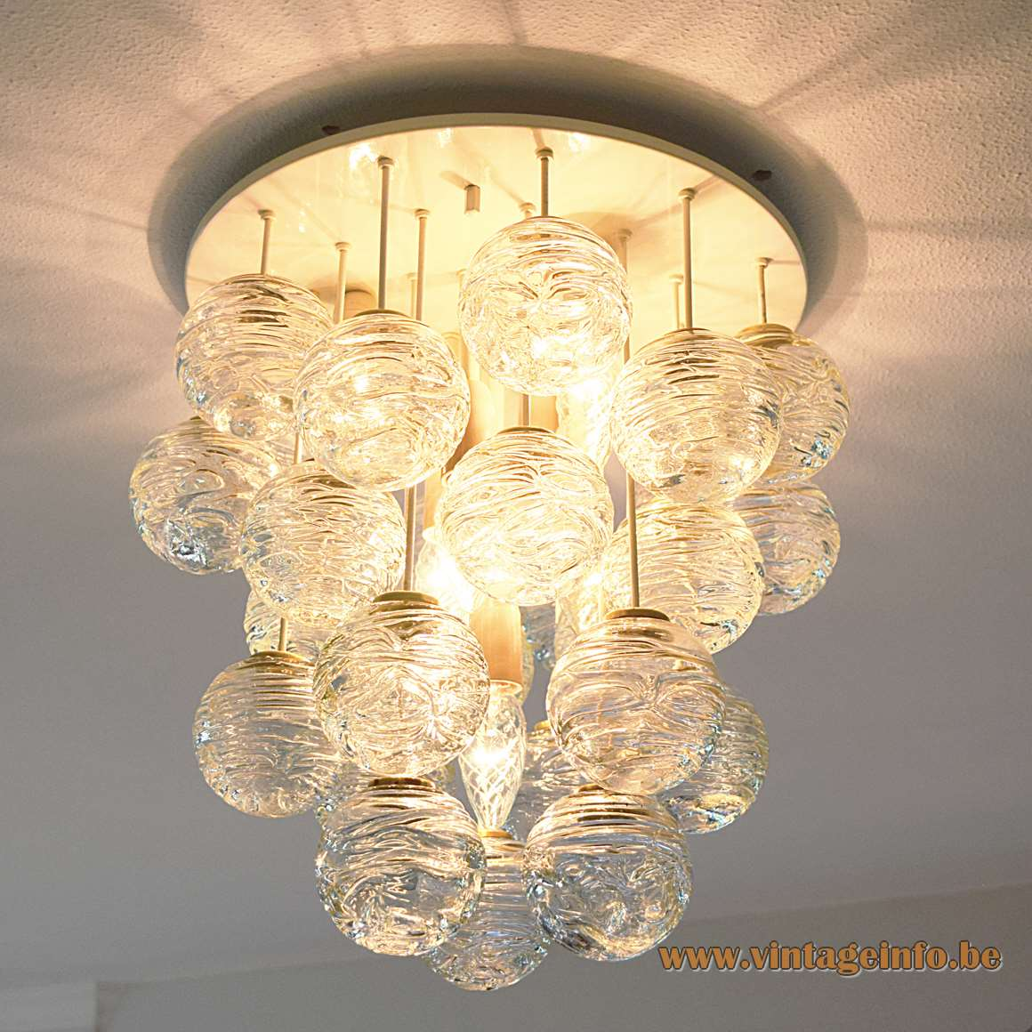 Doria Snowball Ceiling Light