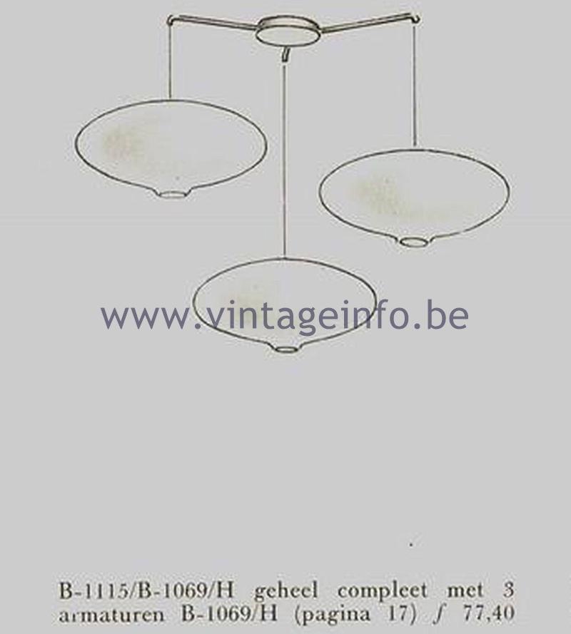 Raak Ceiling Lamp B-1069